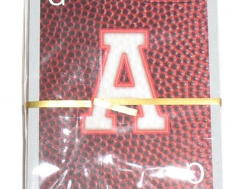 Scrabble Card Game - Scrabble Slam New York Giants -Letter Cards   for Altered Art, Scrapbooking, etc.