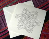 Isometric Holiday Cards- Color your own designs