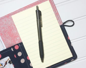 Mini Shopper - Notepad holder List taker - Paper Badana Paint dot