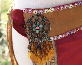 Panel Skirt Belly Dance Tribal Fusion