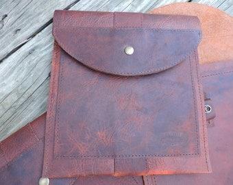 Bison iPad case / iPad Carrier / iPad Sleeve / Bison iPad Sleeve / Leather iPad Sleeve / Leather iPad Carrier / iPad Case