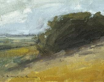 Soares Turn   Oil Painting   4 x 6