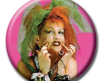 Cyndi Lauper 1.75 inch pinback button