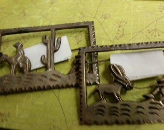 vintage mexican silver brooches