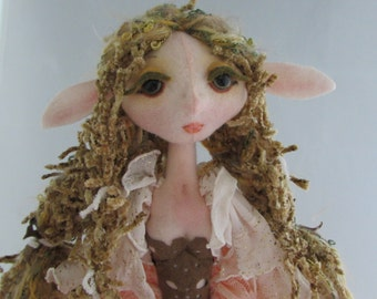 FAERIE CENTAUR, soft sculpture fantasy doll, handmade in the USA