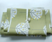 Fabric pack 3 - Moonlight Tree Olive Green