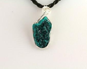 Dioptase Pendant. Listing 463950289