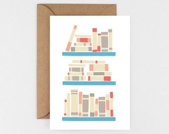Book Shelf Card