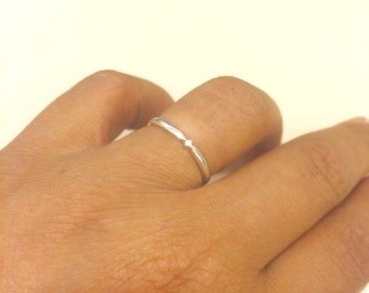 Sterling Silver Band Ring Made To Order