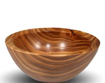 Handmade Wood Bowl - Elm Wood - The Simpleton