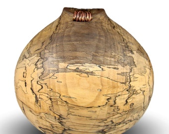 Copper Disorder - Spalted Sycamore Vessel