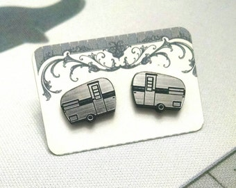 Camper Stud Earrings
