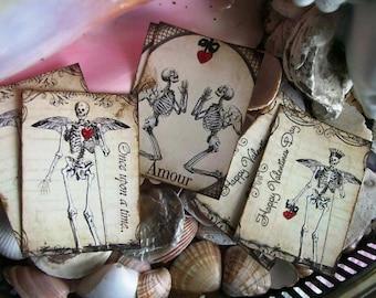 My Gothic Valentine-Cards