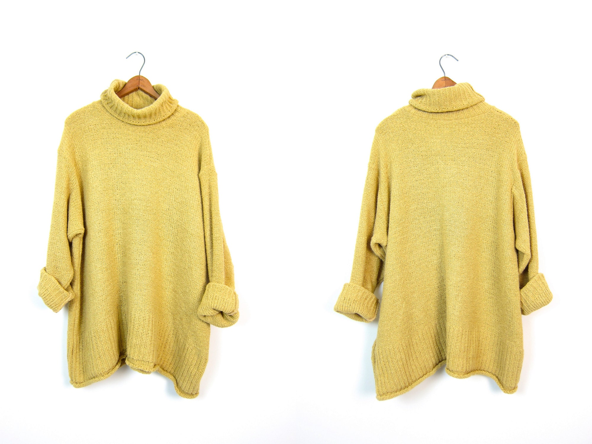 Haystack Yellow Oversized Pullover