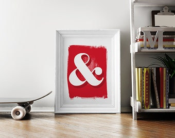 Ampersand Screenprint