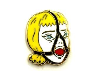 Gag Girl Lapel Pin