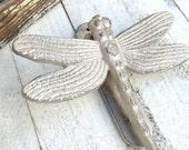 Dragonfly Door Knocker, Front Door Decor, Iron Wall Decor, Garden Decor, Anthropologie Home, Garden Green, Insect Door Knocker