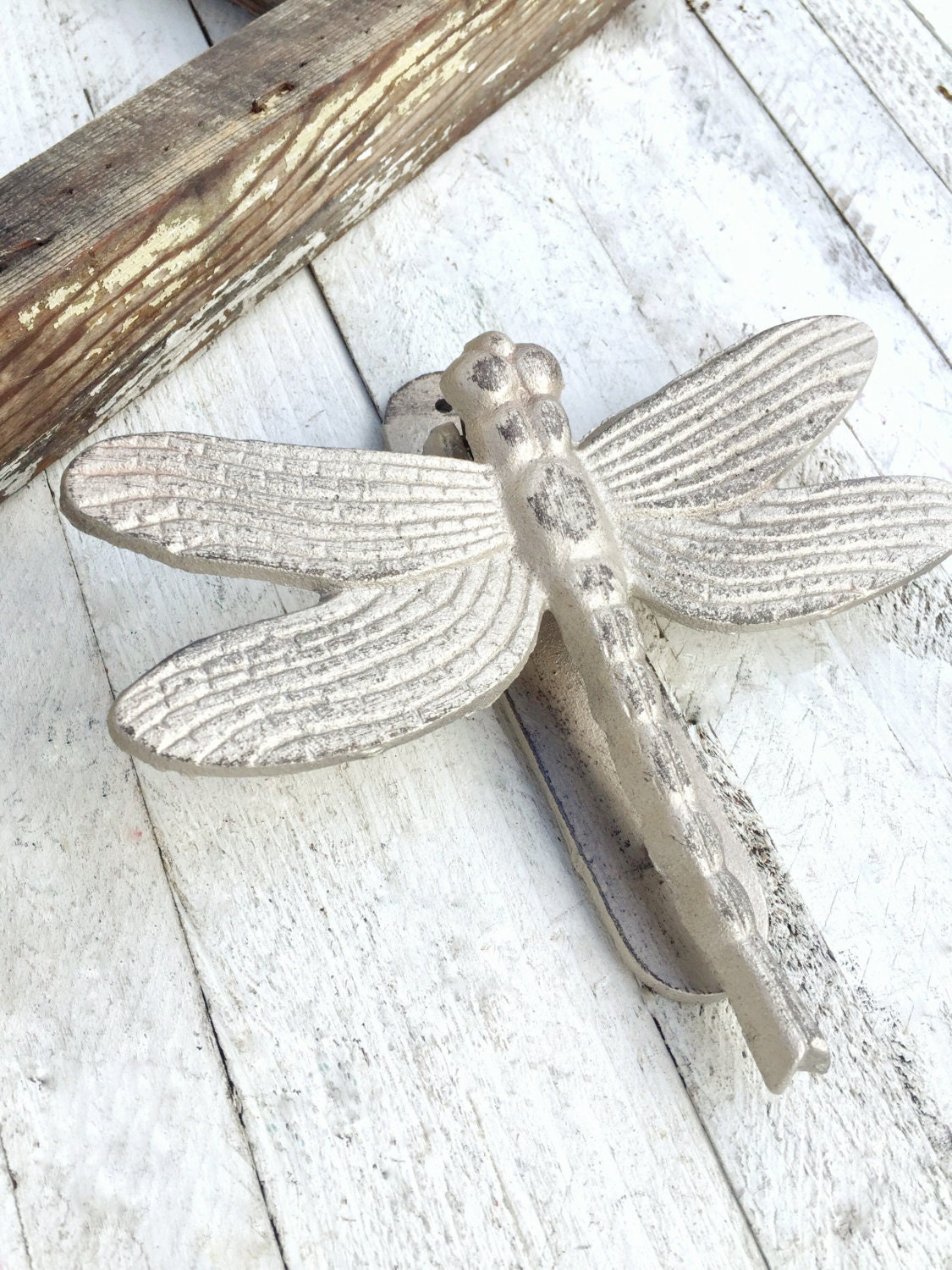 Dragonfly door knocker front door decor iron wall decor - Dragonfly door knocker ...