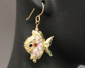 Cloisonne Fish Earrings (...