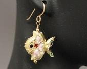 Cloisonne Fish Earrings (...