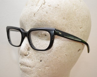 Vintage AMERICAN OPTICAL eyeglasses 1950's buddy holly rock n roll style