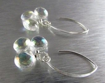 20 % Off Mystic Crystal Quartz Sterling Silver Earrings