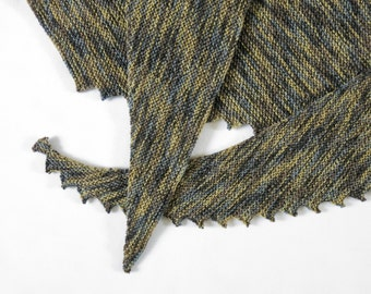 Scarflette - The Dales.Hand Knit Scarf.Unisex Scarf.