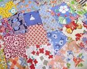 Sale  Shabby Chic Fabrics, Vintage Assorted Feedsack Packet, Feedsack  Novelty, Feedsack Scrap Sampler, Feed Sack Fabric, Feed Sack Vintage