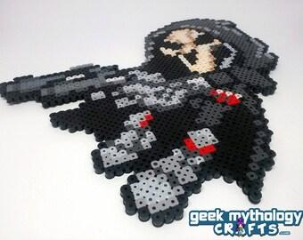 Overwatch Reaper - Die Die Die - Perler Bead Sprite Pixel Art Figure
