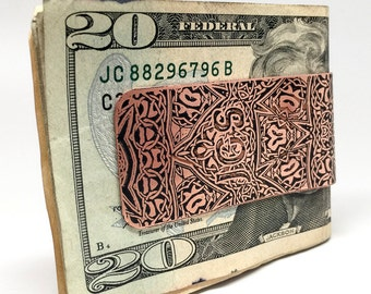 Monogram Money Clip - Groomsman Gift