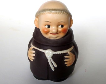 Goebel China Friar Tuck Sugar Bowl with Lid