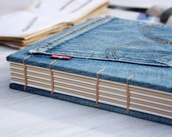 Denim Jeans Sketchbook