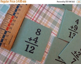 20PercentOff 1940s Awesome Antique Hardboard Flash Cards
