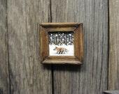 Dollhouse Fox Hand Painting Artisan Original Miniature