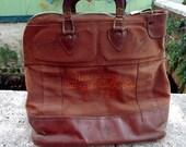 Reserved for Tami Vintage New Jersey Turnpike Money Bank Deposit Bag Satchel
