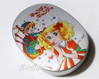 70's - 80's Anime Vintage Candy Candy Bento Box