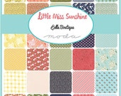 WINTER SALE - In Stock - Little Miss Sunshine - Fat Eighths Bundle (33) - Lella Boutique for Moda Fabrics