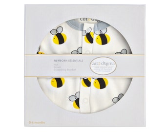 Organic Bee Infant Gift Set