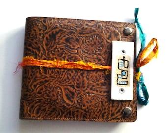 Handmade Journal, Sketch Journal, Altered Journal Cover