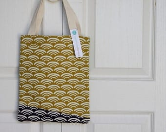 Basic Tote Bag in Yellow and Purple