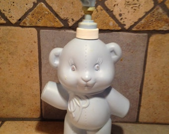 Blue Bear Baby Lotion Dispenser by Avon