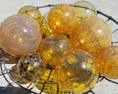 Golden Amber Floats, Set ...
