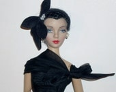 "Cocktail Dress and Hat for 15"" Gene Doll"