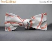 Baseballs  Bow Tie