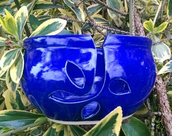 Yarn bowl cobalt blue 9