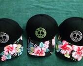 Peace turtle ballcap, peace turtle, peace honu, hawaiian turtle, hawaiian honu, embroidered turtle ballcap, embroidered ballcap, ballcap