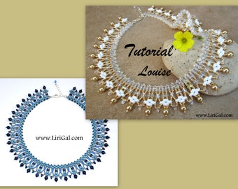 Lisa and Louise SuperDuo - Rulla Necklace Bracelet PDF Tutorials