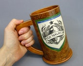 Go Hawks Seattle Seahawks Football Inspired Beer Stein
