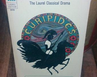 Euripides Vintage Paperback Book