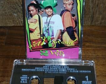TLC Ain't 2 Proud 2 Beg Vintage Cassette Tape